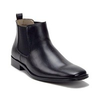 New Men's 49902 Leather Lined Chelsea Ankle High Boots