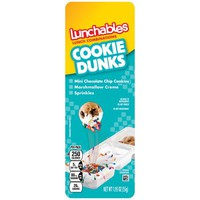 Lunchables Snack Combinations Cookie Dunks, 1.95 OZ - Walmart.com