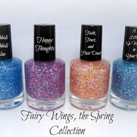 Fairy Wings, the Spring Collection Glitter Nail Polish