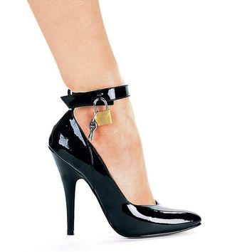 Ellie Shoes E-8227 5 Heel Pump With Lock And Key