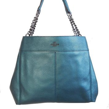 Coach Pebbled Leather Lexy Shoulderbag