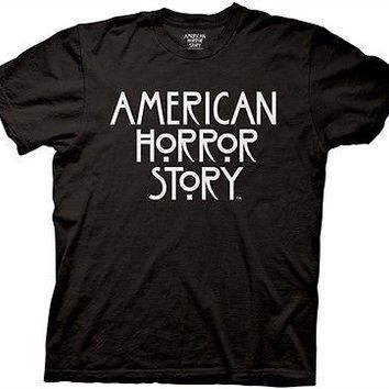 American Horror Story Logo FX TV Adult T Shirt