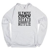 Olympic Couch Potato Sponsored by Netflix Hoodie
