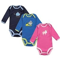 Baby Rompers Spring Newborn Baby Clothes Long Sleeve Infant Baby Boy Jumpsuits Baby Girl Clothing Sets