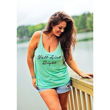 5XL Plus Size Women Tank Top Sleeveless T-shirt Vest Summer Fashion Letters Printed Cotton Casual Loose Women Tank Tops