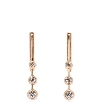 Diamond, amethyst, topaz & 18kt rose-gold earrings | Marie Mas | MATCHESFASHION.COM US