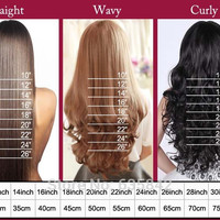 Real Clip In Hair Extensions Full Head