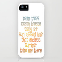 Endless Summer iPhone Case by Ally Coxon | skins|pillows|bags|prints and more at Society6
