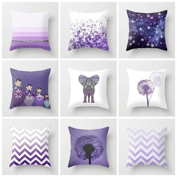 Cute Pillow Sets : GET THIS CUTE *** PURPLE PILLOW SET *** from Society6