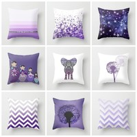 GET THIS CUTE *** PURPLE PILLOW SET ***  by Monika Strigel