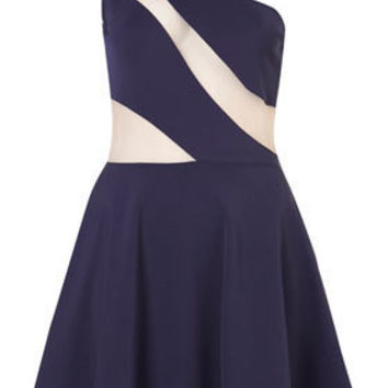 **Swirl Mesh Dress by Dress Up Topshop - Dresses - Going Out  - Collections