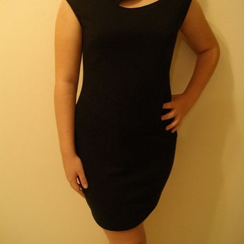 January sample sale BLACK PARTY DRESS size medium ready for shipping mjcreation
