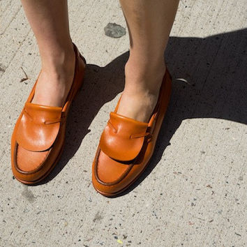 FERNET LOAFERS, SADDLE