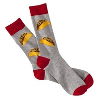 Mossimo Supply Co. Men's 1pk Fashion Socks - Tacos