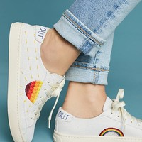 Soludos Embroidered Sun Sneakers