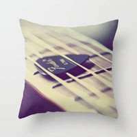 Sweet Song Throw Pillow by Amelia Kay Photography | Society6