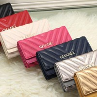 chanel 2017 new fashion leather twill Cellphone bag [99353788431]
