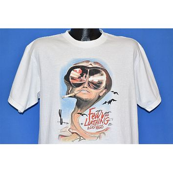 90s Fear and Loathing in Las Vegas Movie t-shirt Large