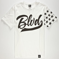 Blvd Winners Mens T-Shirt White  In Sizes