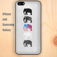 cartoon elephant dream iphone 6 6 plus iPhone 5 5S 5C case Samsung S3, S4,S5 case, Ipod touch Silicone Rubber Case Phone cover Waterproof
