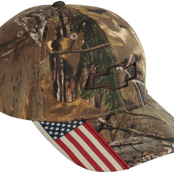 Chevrolet American Realtree Camo Cap-Chevy Mall