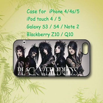 black veil brides, iPhone 5 Case, iPhone 4 Case, ipod 4, ipod 5 case,Samsung Galaxy S4,Samsung Galaxy S3, Samsung note 2, blackberry z10,Q10