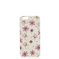 Fire Flower iPhone 6 Cover - White