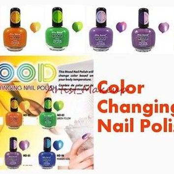 ONE MIA SECRET MOOD COLOR CHANGING NAIL POLISH LACQUER - MADE IN USA