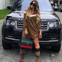 GUCCI Women Long Sleeve Dress