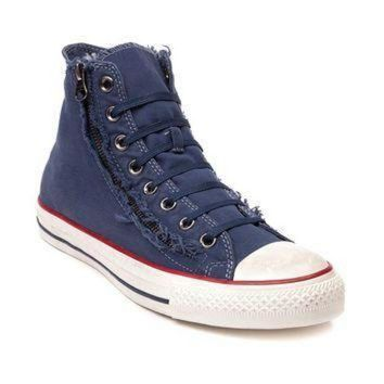 DCCK1IN converse all star hi washed zip sneaker