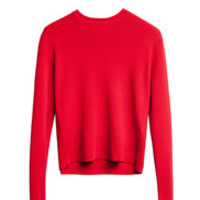 Materia A-Line Sweater Red