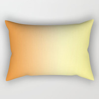 Orange to Yellow Ombre Pillow Cover - Throw Pillow Cover - Includes Insert - Orange Home Decor - Sofa Pillow - Made to Order