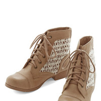 ModCloth Go with the Florence Bootie