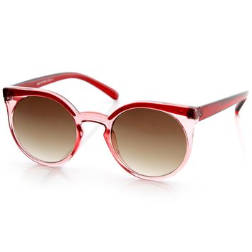 Vintage Retro 1950s Round Fashion Frame Sunglasses