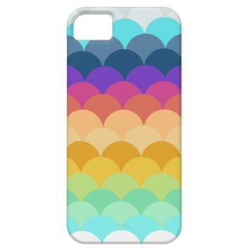 Colorful Scalloped IPhone 5 Case from Zazzle.com