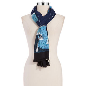 Kate Spade New York World Map Scarf