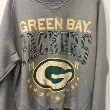 Brand NEW GREEN BAY PACKERS Crew Neck Crewneck 'BIG TIME' sweatshirt AUTHENTIC