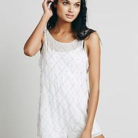 Free People Womens Check Me Out Romper