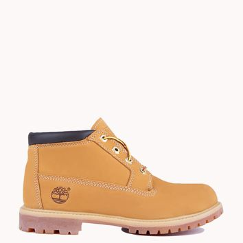 Timberland Women's Nellie Chukka Double Waterproof Boot - Wheat Nubuck