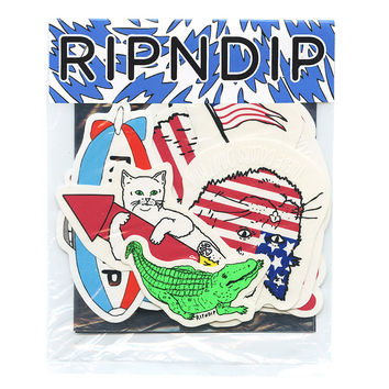 RIPNDIP All AMERICAN STICKER PACK