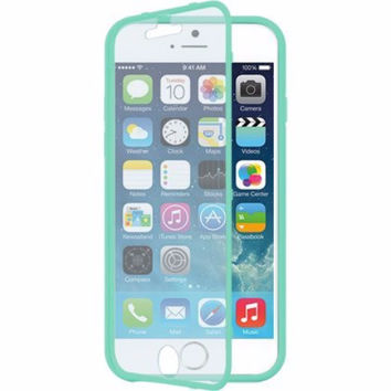 For Apple iPhone 6s / 6 Case, Built-in Screen Protector Easy Grip Full Body Armor Case for Iphone 6S/6 - Teal