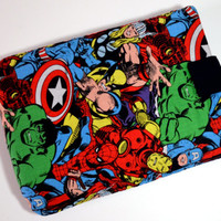 "Avengers Tablet Case/10"",9"",8""Tablet Case/iPad Case/ Microsoft Surface Tablet/ Samsung Galaxy Sleeve/ Kindle Fire HD Case/ Nexus Case"