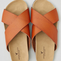 AEO X-BAND MOLDED FOOTBED SANDAL