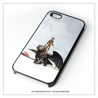 How To Train Your Dragon Anime iPhone 4 4S 5 5S 5C 6 6 Plus , iPod 4 5 , Samsung Galaxy S3 S4 S5 Note 3 Note 4 , HTC One X M7 M8 Case