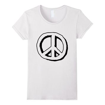 Peace Sign | Vintage Hippie Love & Equality Shirt
