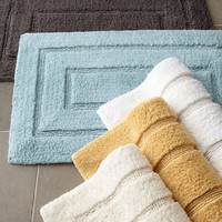 "Tufted Cotton Bath Rug, 20"" x 32"" - Kassatex"