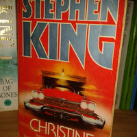 Stephen King,Christine,vintage paperback,collectible book 1984,Americana,Horror,Fiction