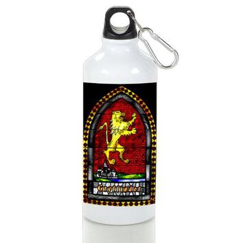 Gift Sport Bottles | Gryffindor Stained Glasses Aluminum Sport Bottles