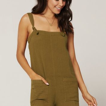 LSpace Stephie Romper in Moss