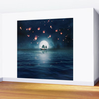 Travel through the Lights Wall Mural by vivianagonzlez